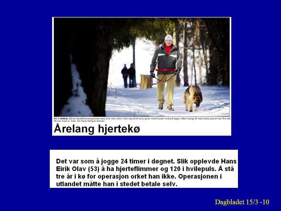 Dagbladet 15/3 -10