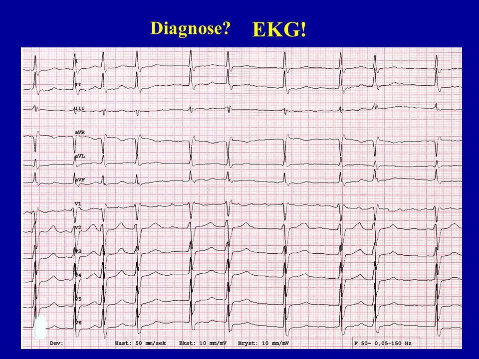 Diagnose EKG! Starte med to polikliniske kauistikker