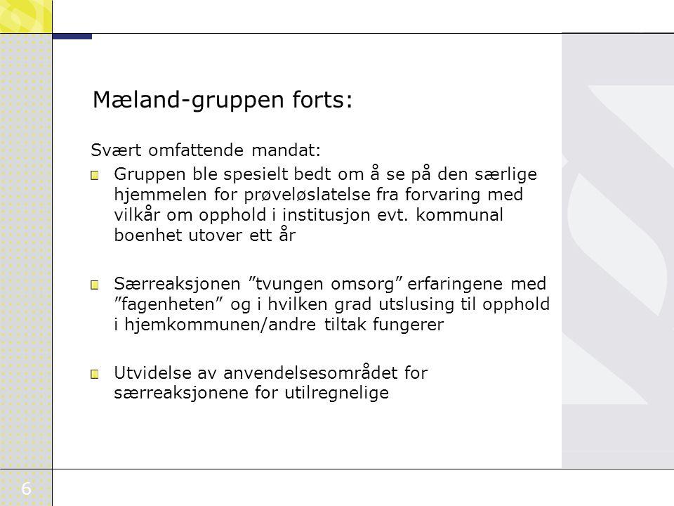 Mæland-gruppen forts: