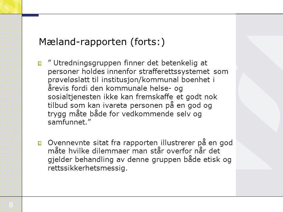 Mæland-rapporten (forts:)