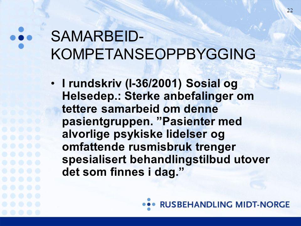 SAMARBEID-KOMPETANSEOPPBYGGING