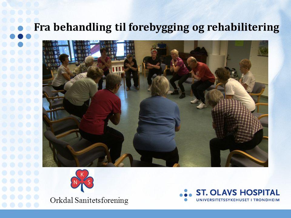 Fra behandling til forebygging og rehabilitering