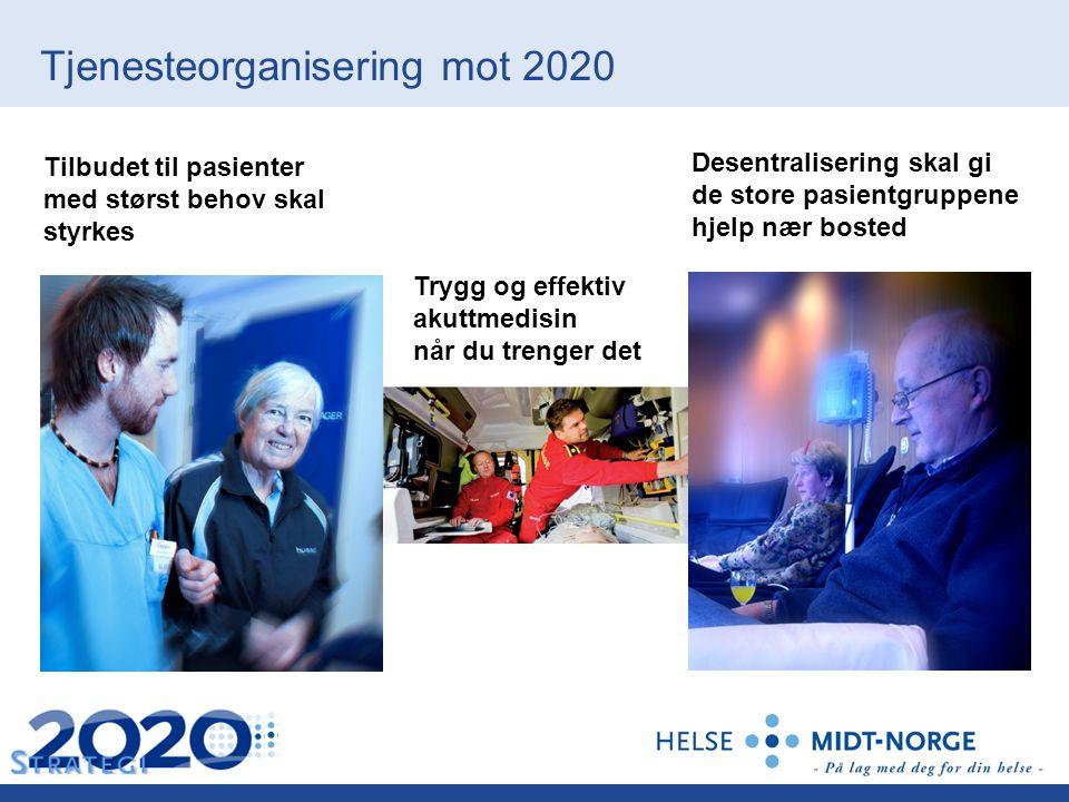 Tjenesteorganisering mot 2020