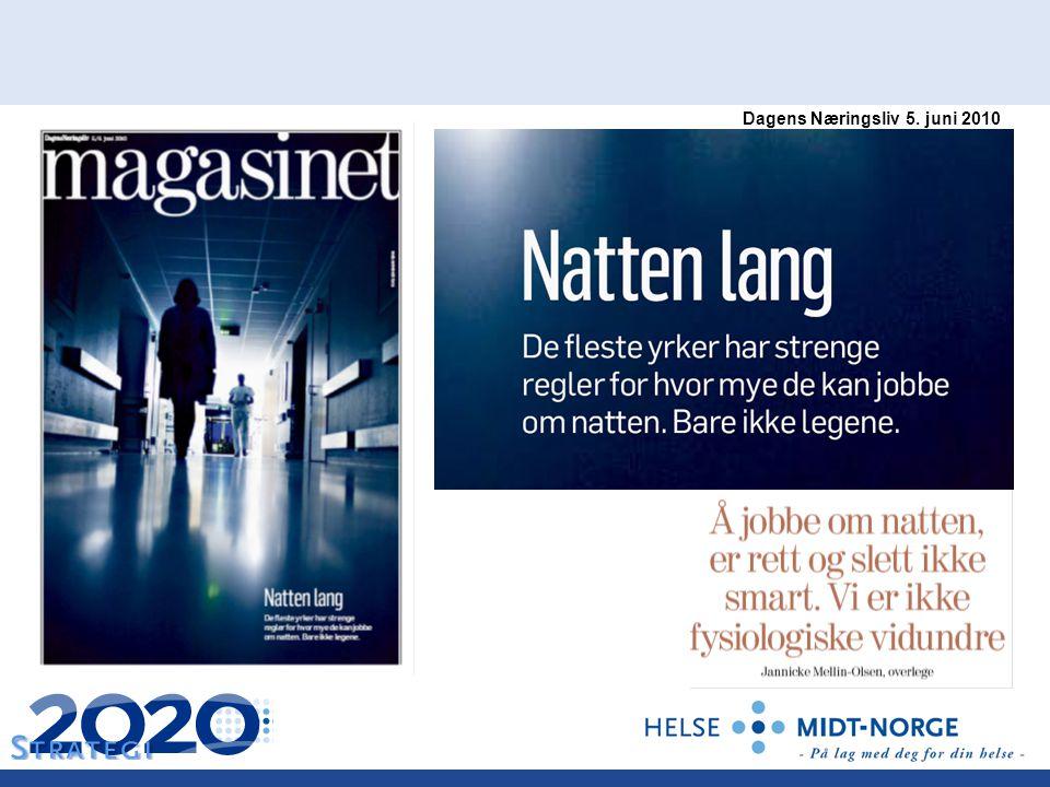 Dagens Næringsliv 5. juni 2010