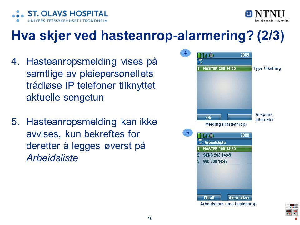 Hva skjer ved hasteanrop-alarmering (2/3)