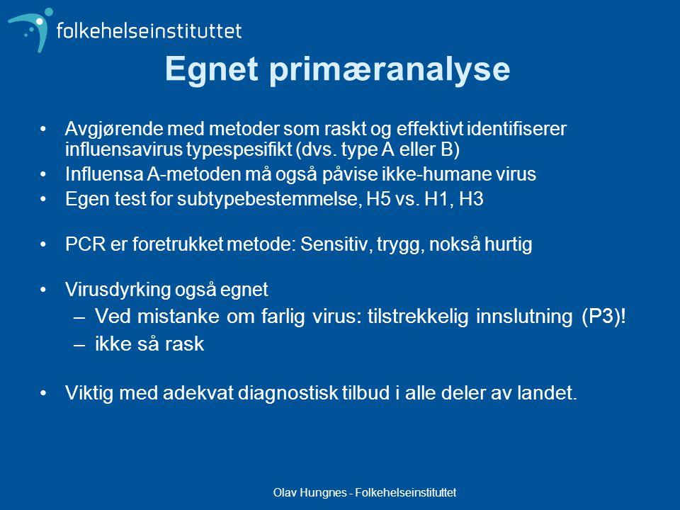 Olav Hungnes - Folkehelseinstituttet