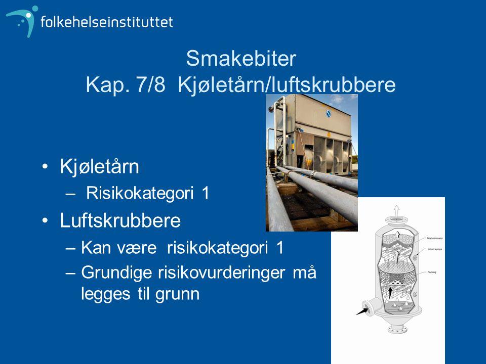Smakebiter Kap. 7/8 Kjøletårn/luftskrubbere