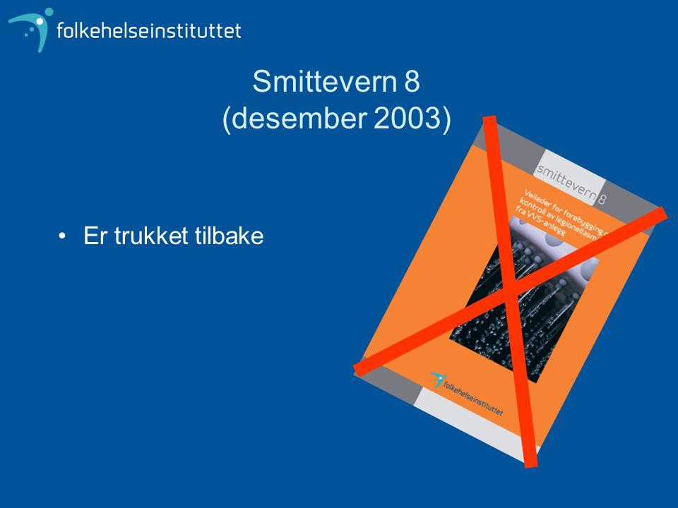 Smittevern 8 (desember 2003)