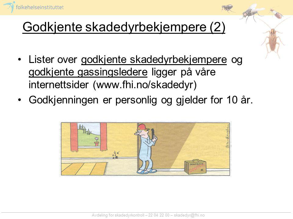 Godkjente skadedyrbekjempere (2)