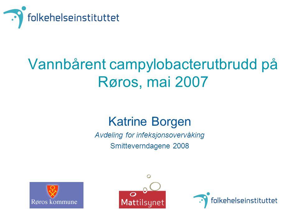 Vannbårent campylobacterutbrudd på Røros, mai 2007
