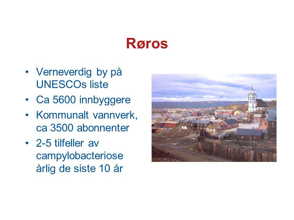 Røros Verneverdig by på UNESCOs liste Ca 5600 innbyggere