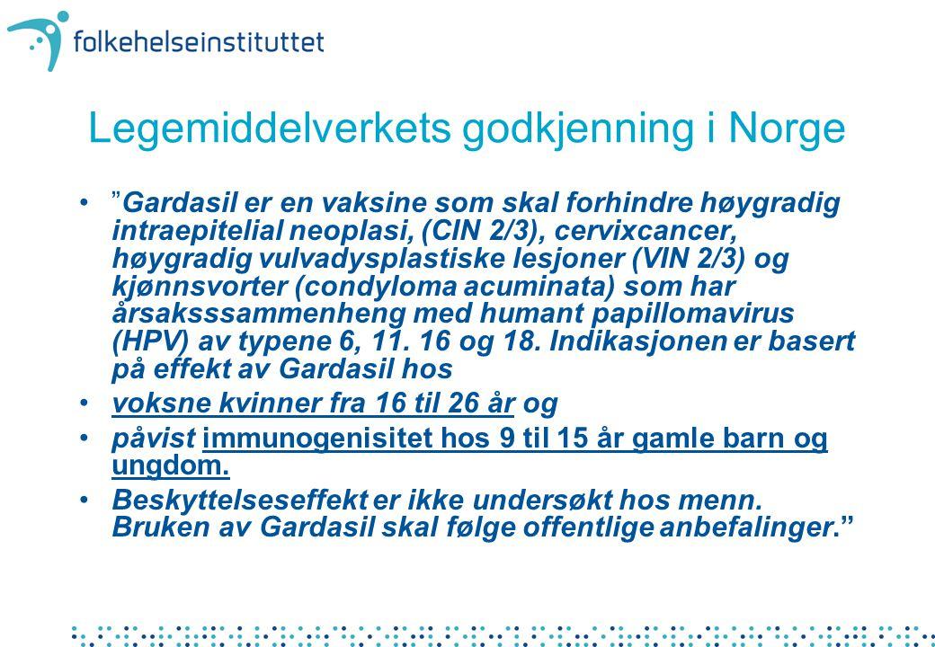 Legemiddelverkets godkjenning i Norge