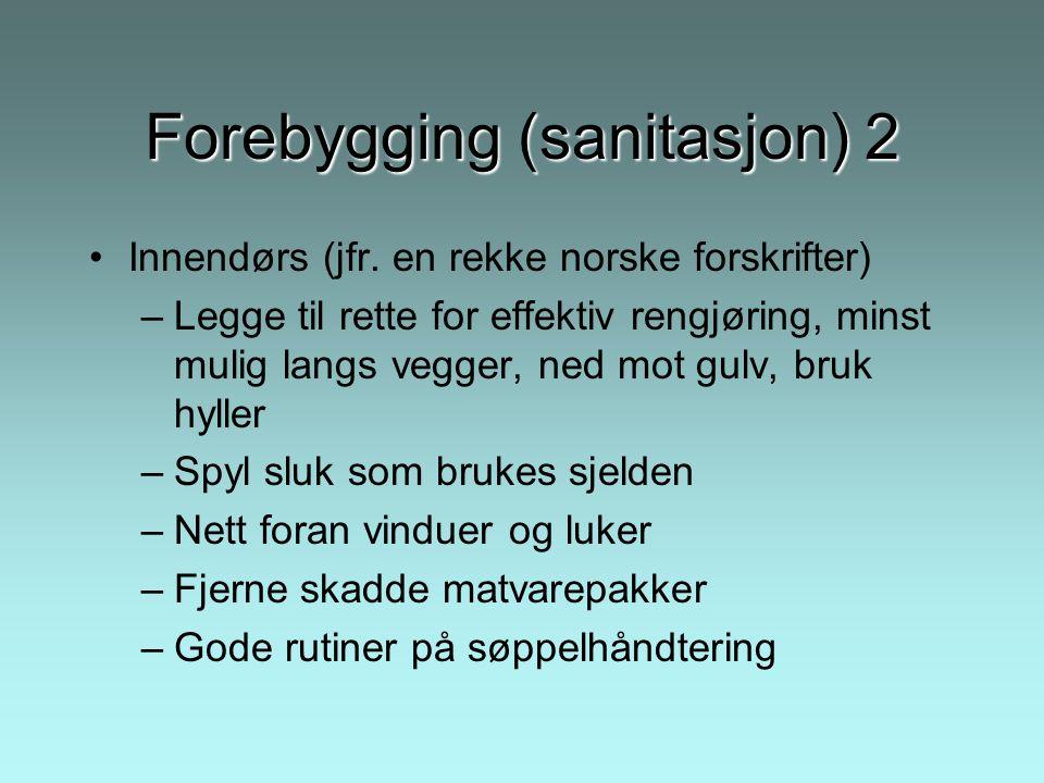 Forebygging (sanitasjon) 2