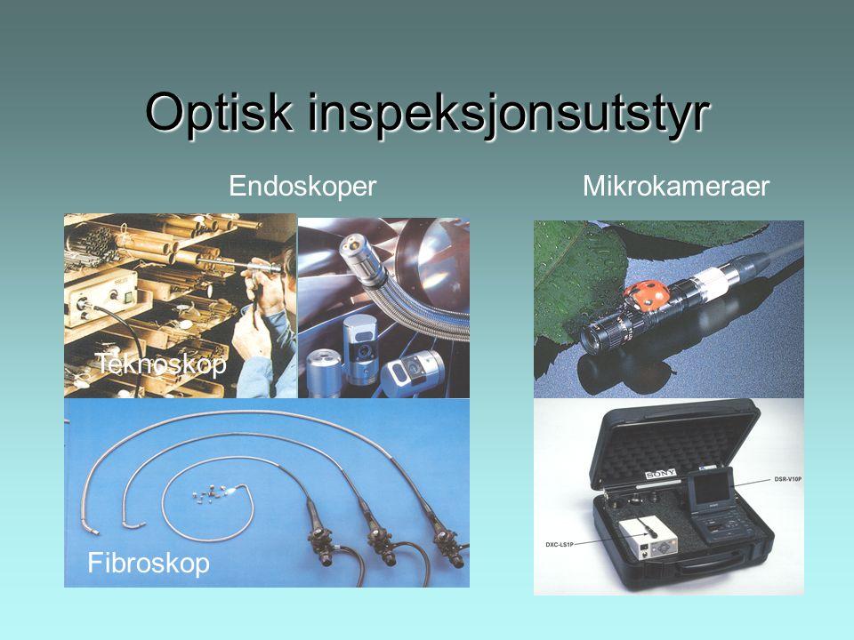 Optisk inspeksjonsutstyr