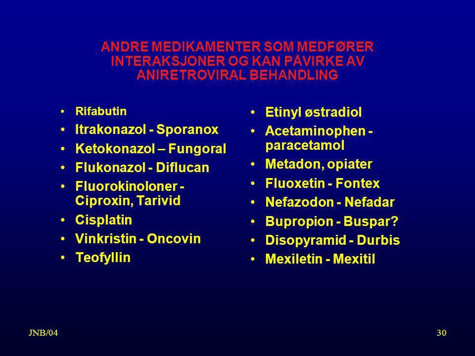 Itrakonazol - Sporanox Ketokonazol – Fungoral Flukonazol - Diflucan