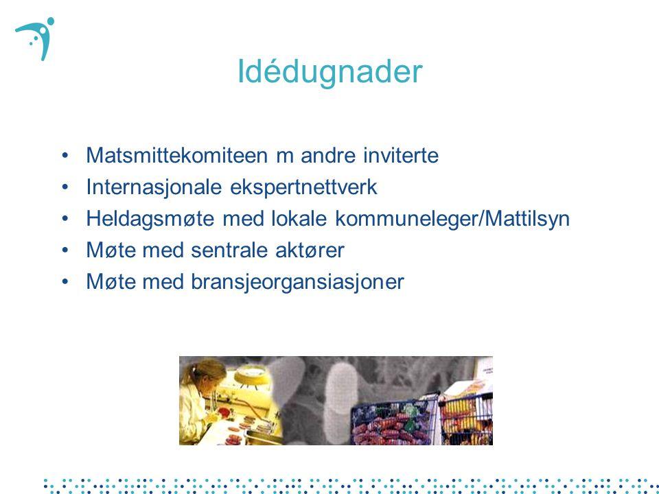 Idédugnader Matsmittekomiteen m andre inviterte