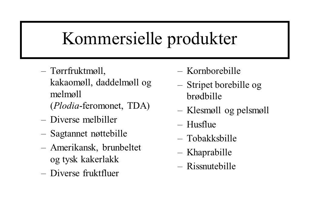 Kommersielle produkter