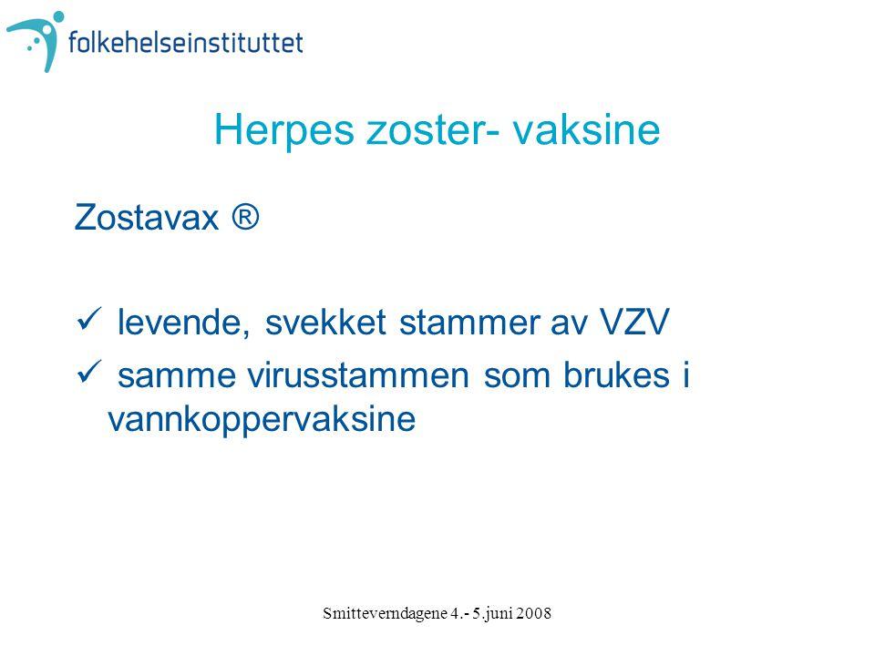 Herpes zoster- vaksine