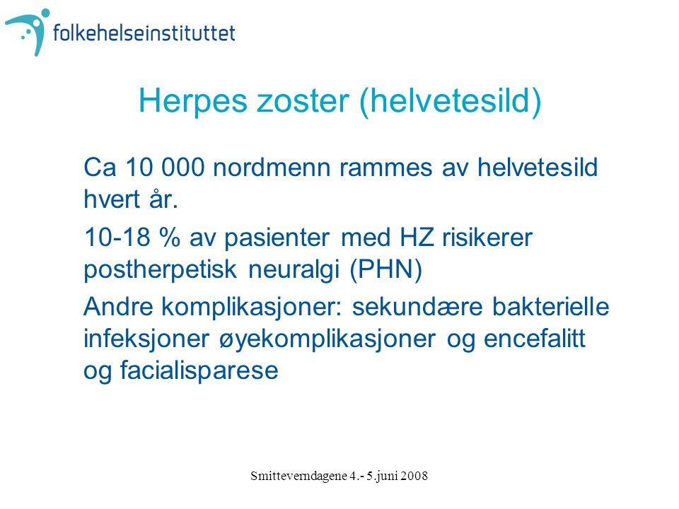 Herpes zoster (helvetesild)