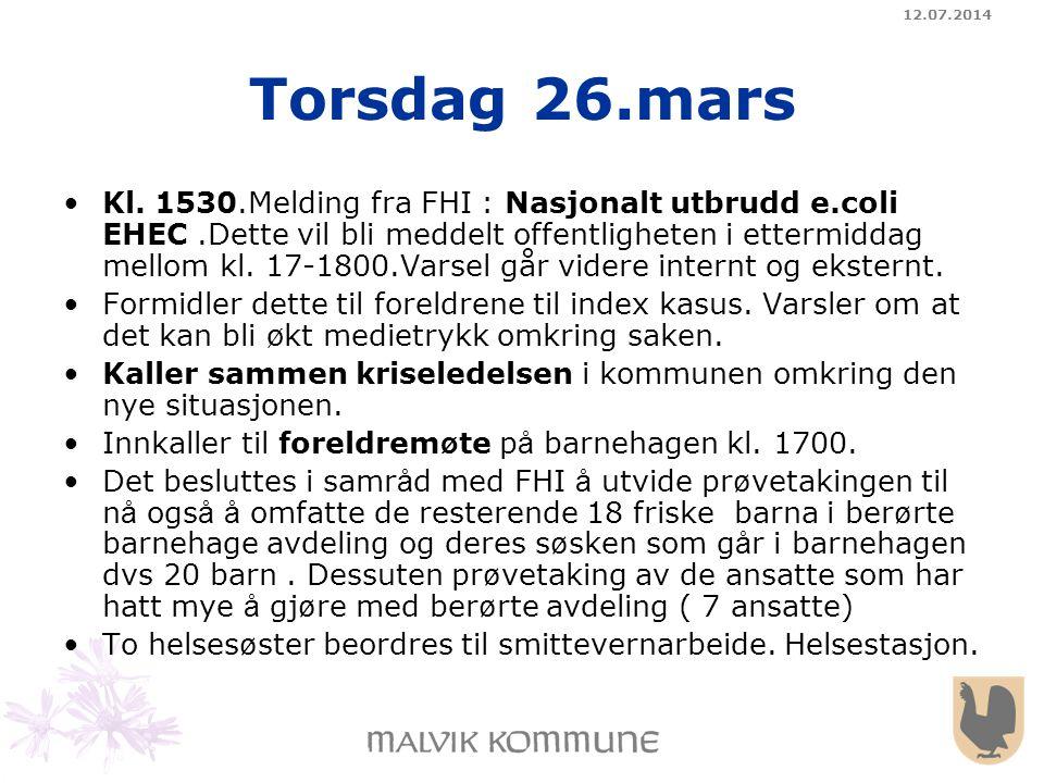 04.04.2017 Torsdag 26.mars.