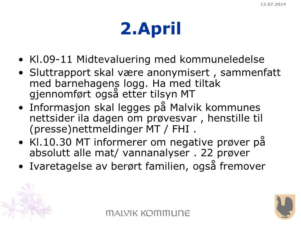 2.April Kl.09-11 Midtevaluering med kommuneledelse