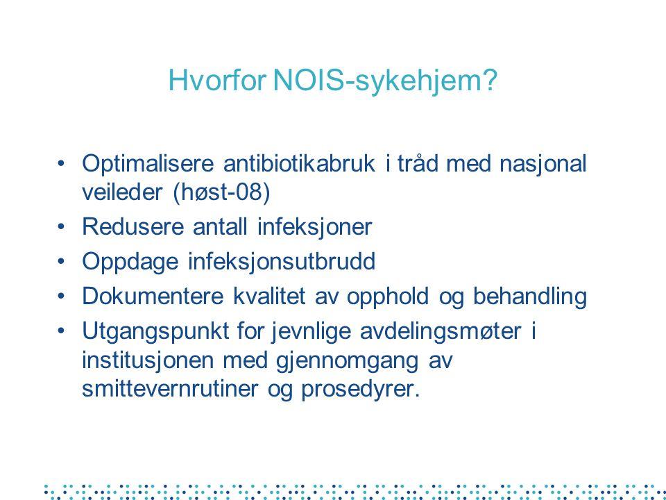 Hvorfor NOIS-sykehjem
