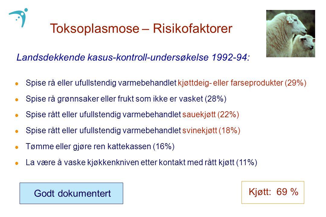 Toksoplasmose – Risikofaktorer