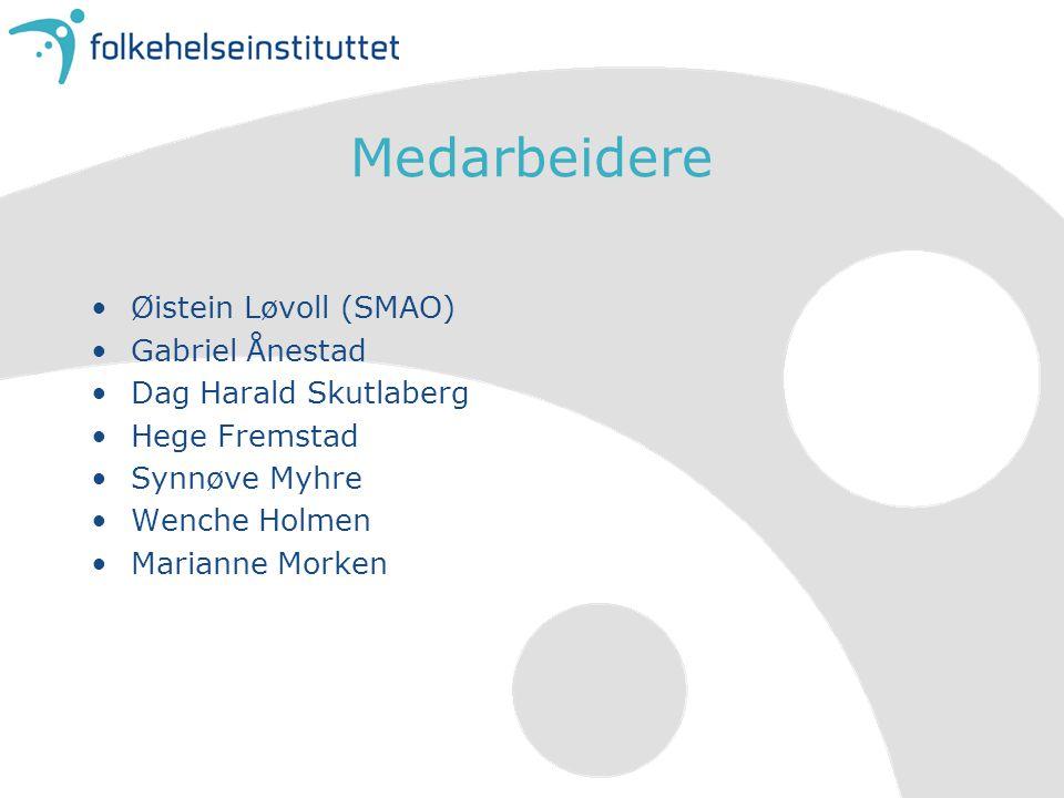 Medarbeidere Øistein Løvoll (SMAO) Gabriel Ånestad