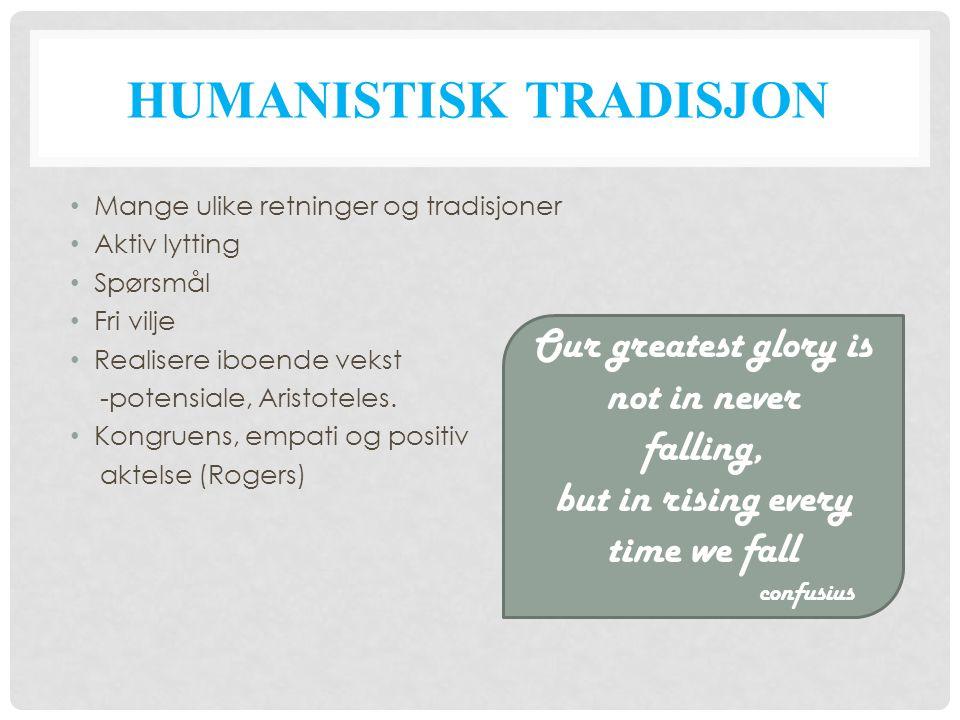 Humanistisk tradisjon