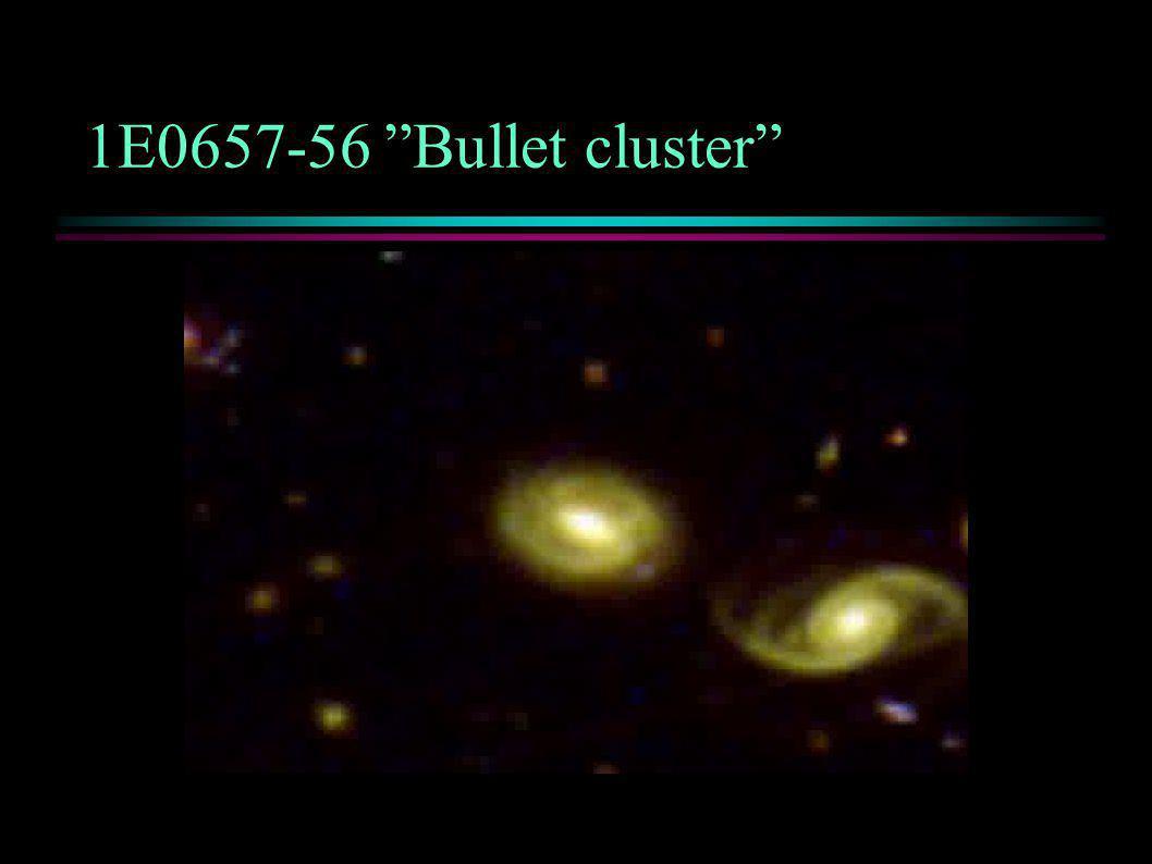 1E0657-56 Bullet cluster
