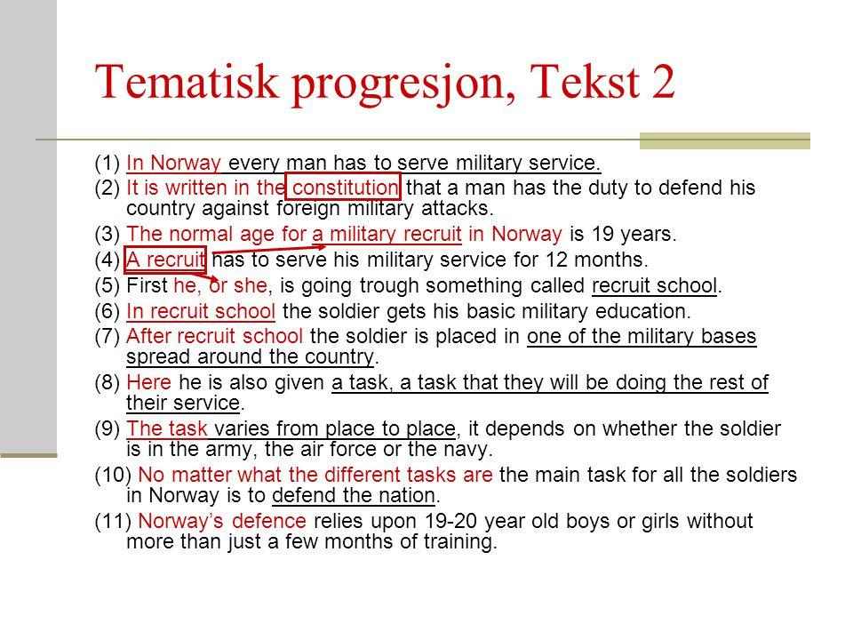 Tematisk progresjon, Tekst 2