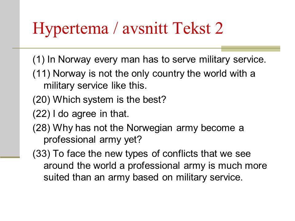Hypertema / avsnitt Tekst 2