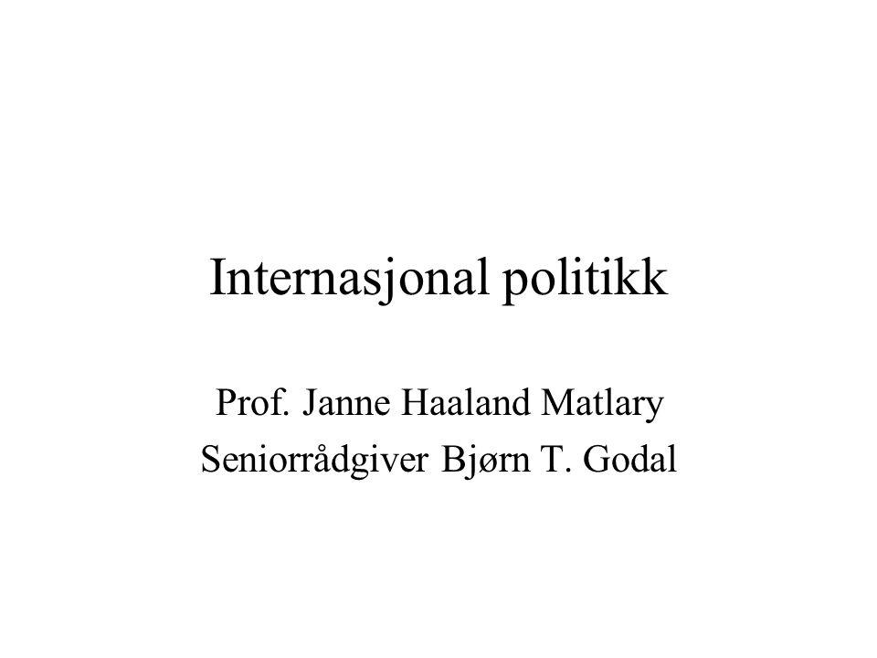 Internasjonal politikk