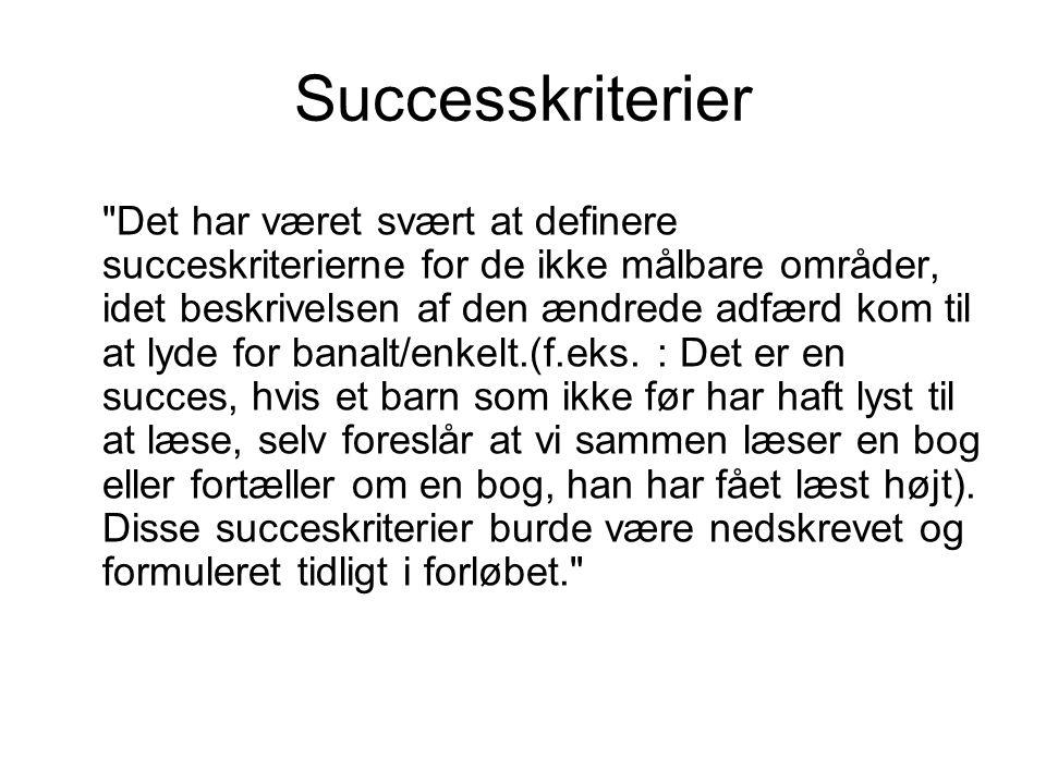 Successkriterier