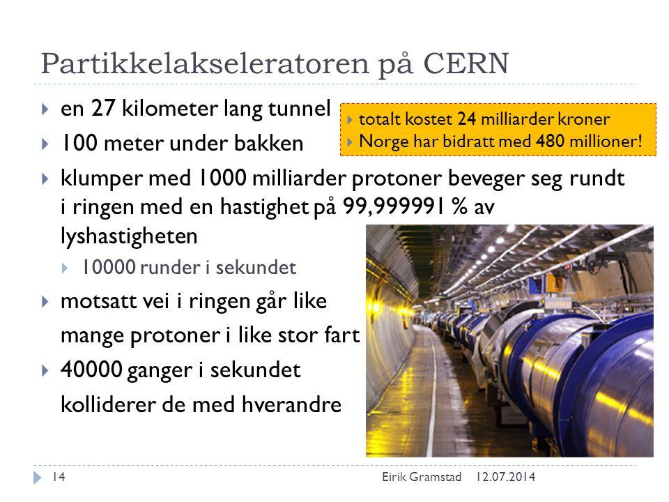 Partikkelakseleratoren på CERN
