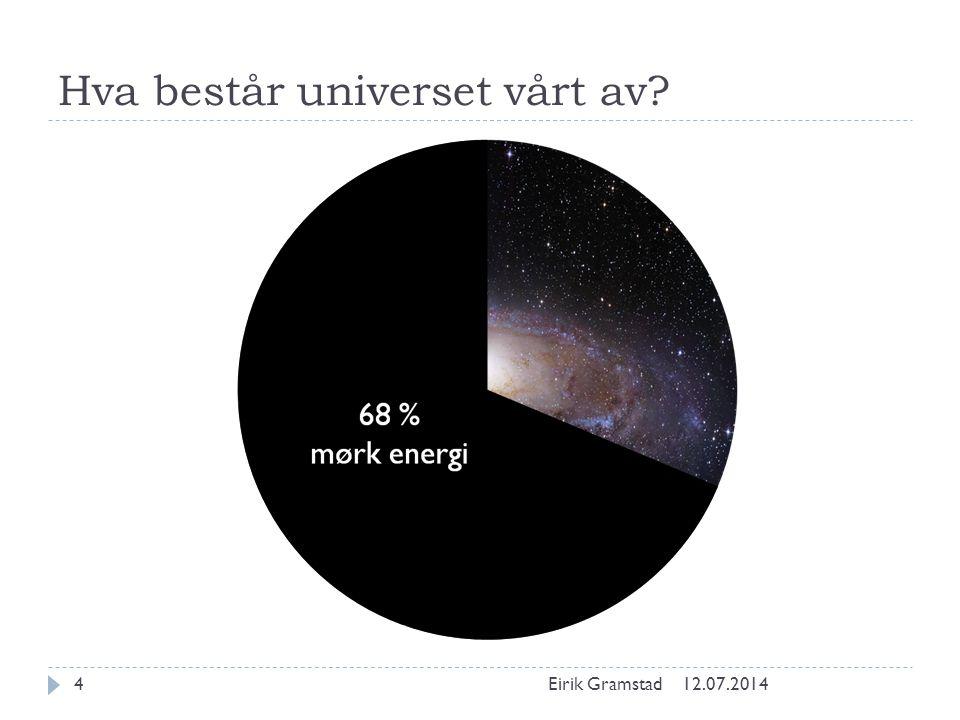 Hva består universet vårt av