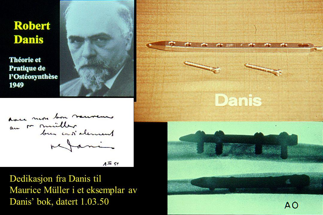 Dedikasjon fra Danis til