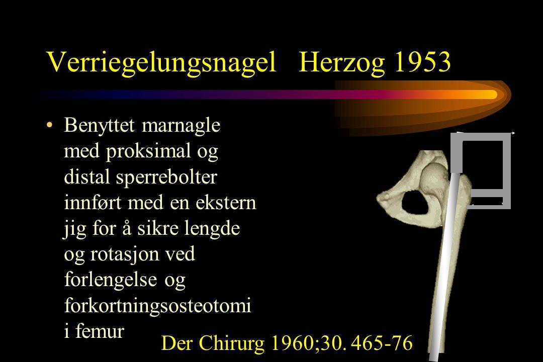 Verriegelungsnagel Herzog 1953