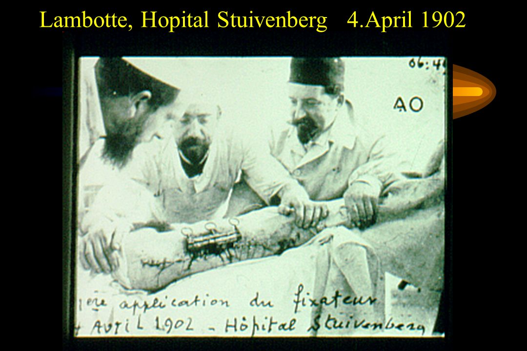 Lambotte, Hopital Stuivenberg 4.April 1902
