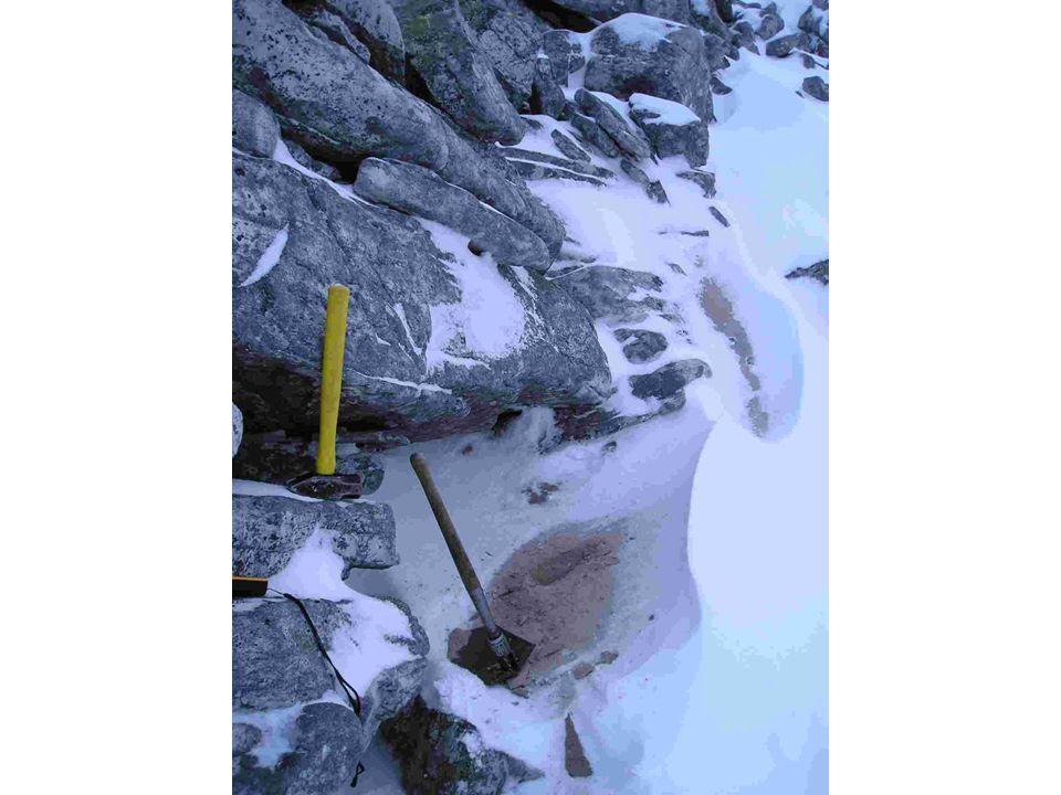 Kvartsittsand, frostforvitring (20sepP44)