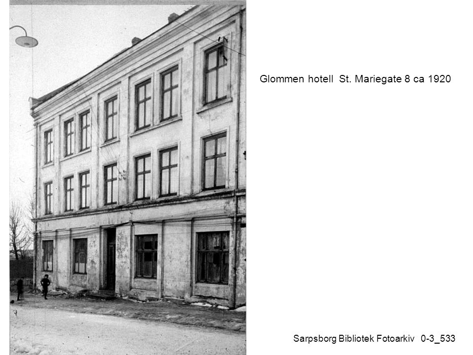 Glommen hotell St. Mariegate 8 ca 1920