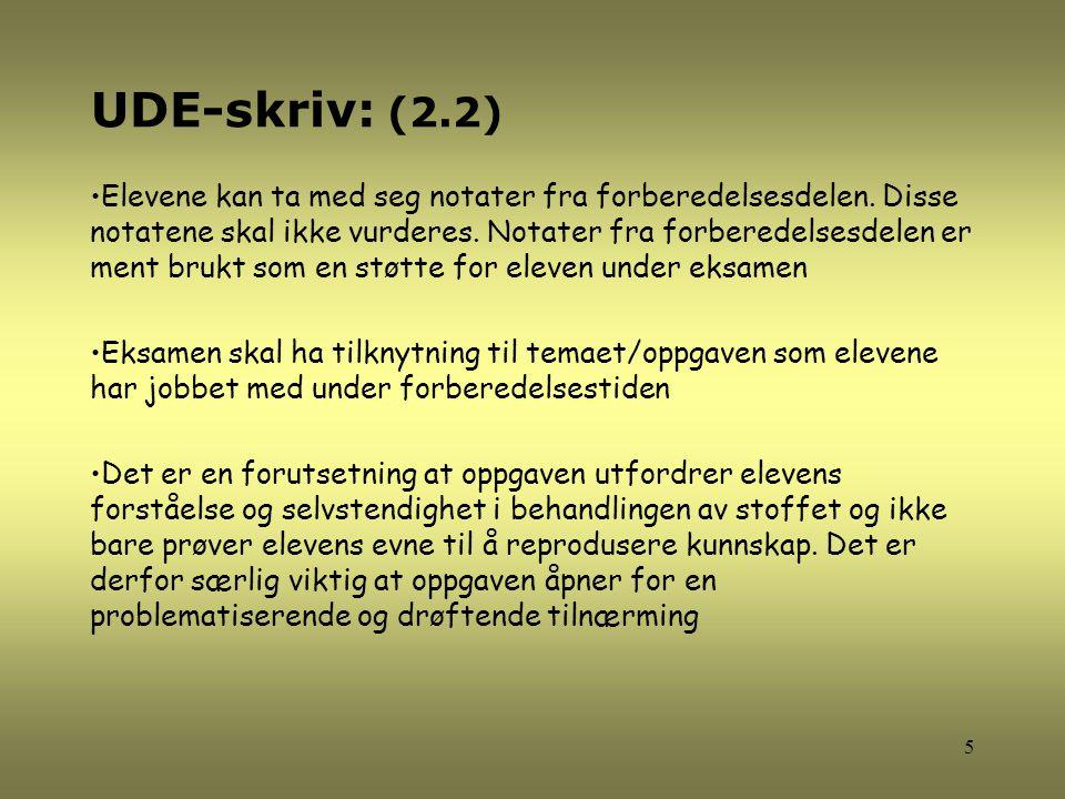 UDE-skriv: (2.2)