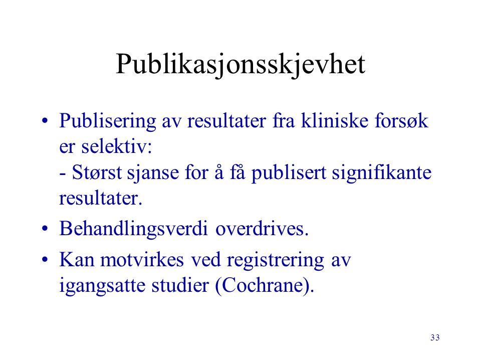Publikasjonsskjevhet
