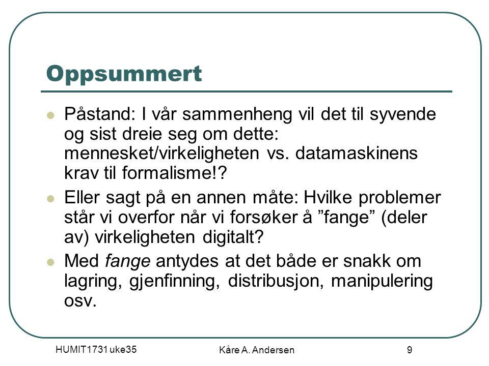 04.04.2017 Oppsummert.
