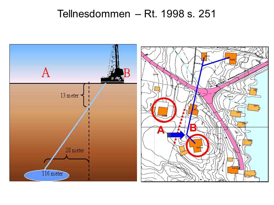 Tellnesdommen – Rt. 1998 s. 251 A. B.
