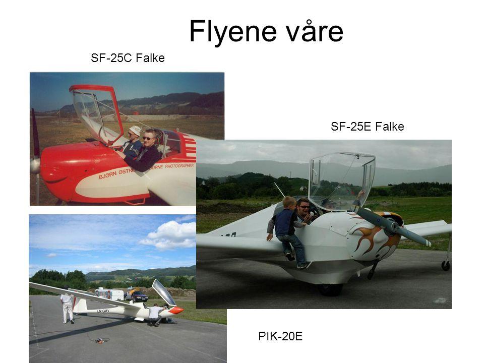 Flyene våre SF-25C Falke SF-25E Falke PIK-20E
