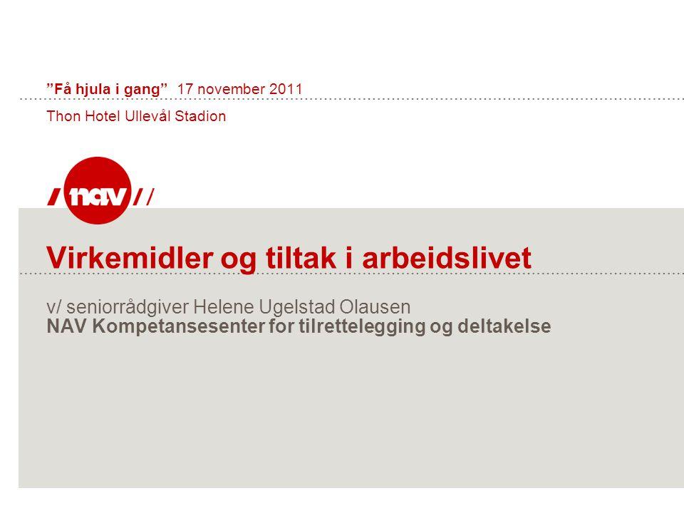 Få hjula i gang 17 november 2011 Thon Hotel Ullevål Stadion