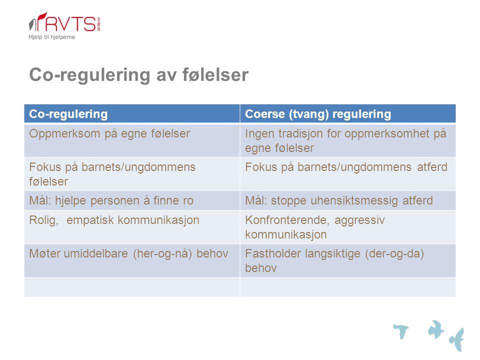 Co-regulering av følelser