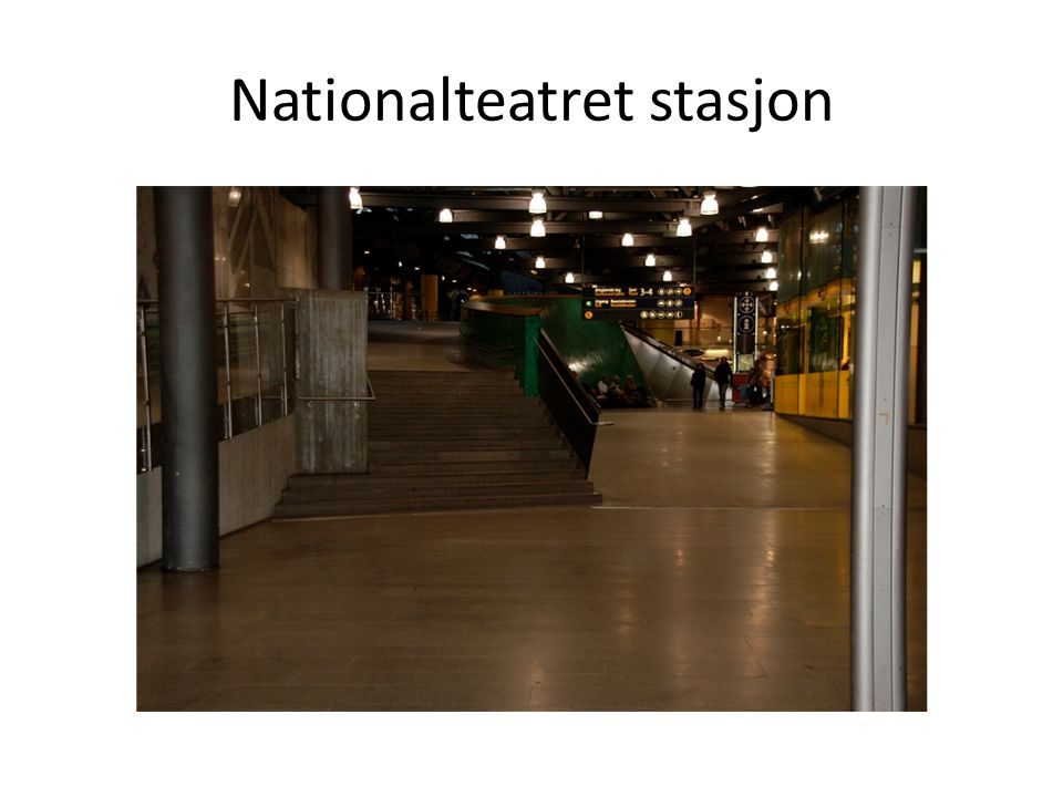 Nationalteatret stasjon