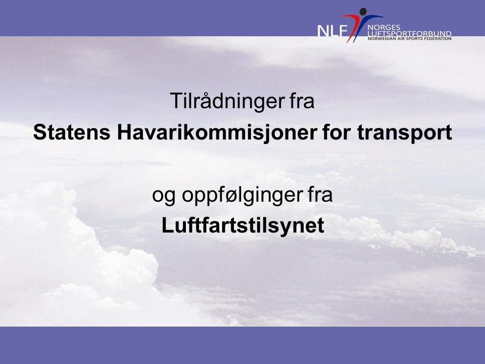 Statens Havarikommisjoner for transport